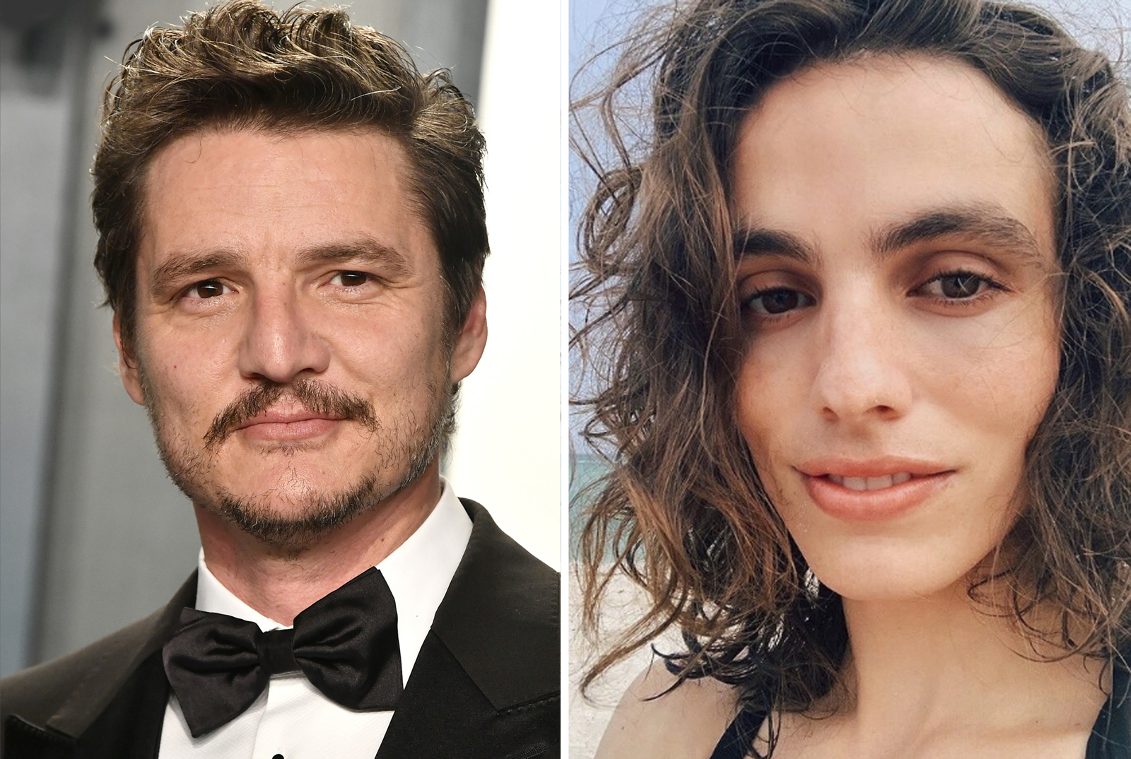 Pedro Pascal y Lux Pascal
