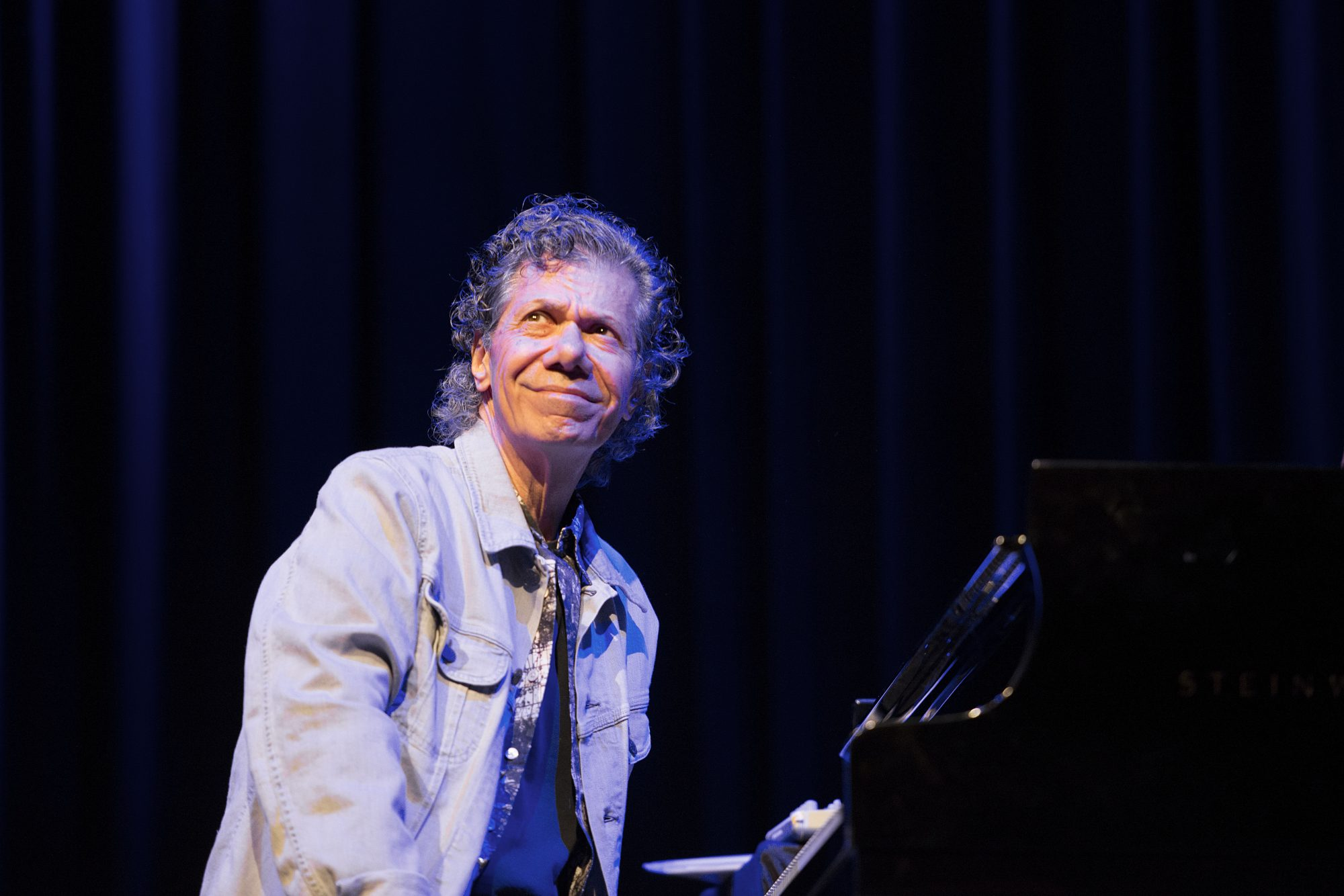 Chick Corea performs on stage at Halic Congress Cente
