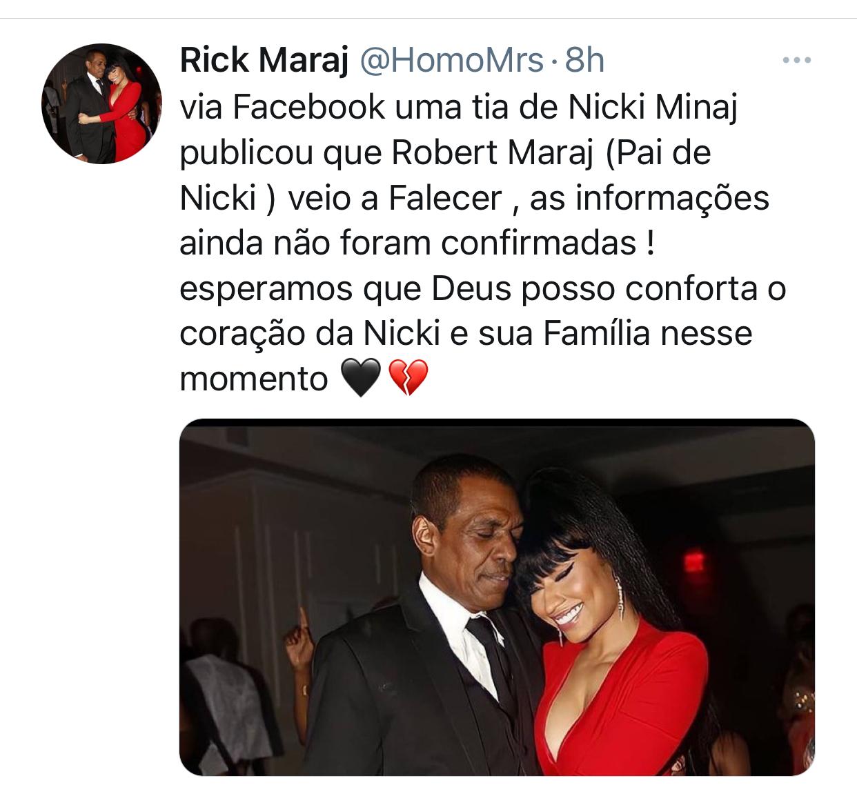 Nicki Minaj papá