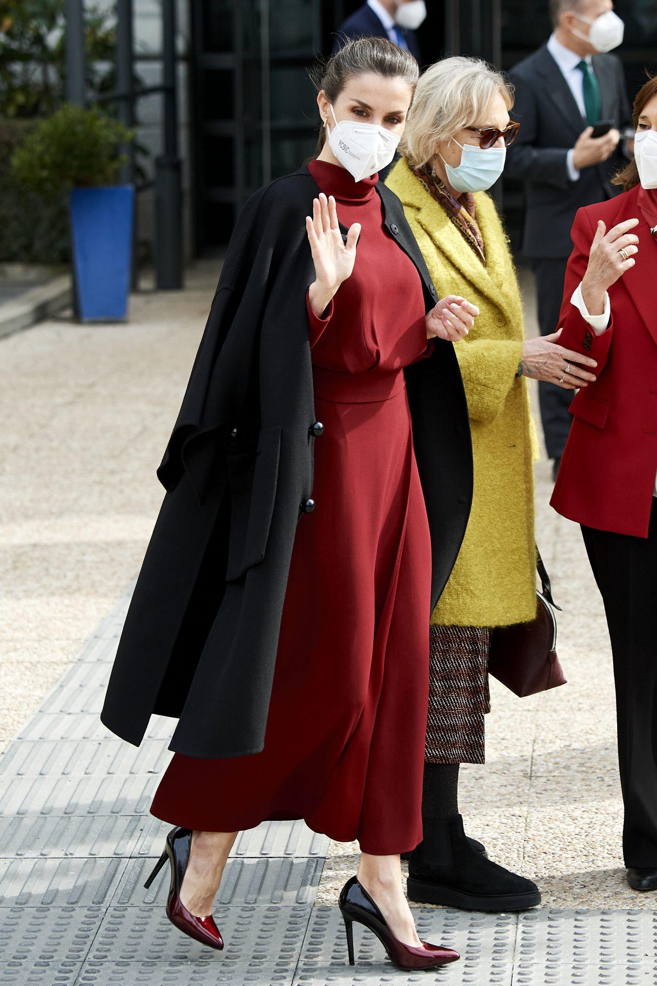 Reina Letizia, look del dia, madrid