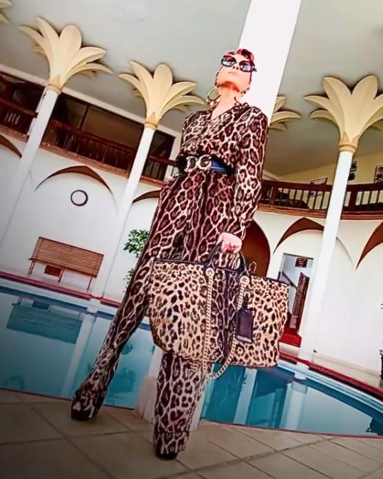 Yuri, look del dia, look de leopardo