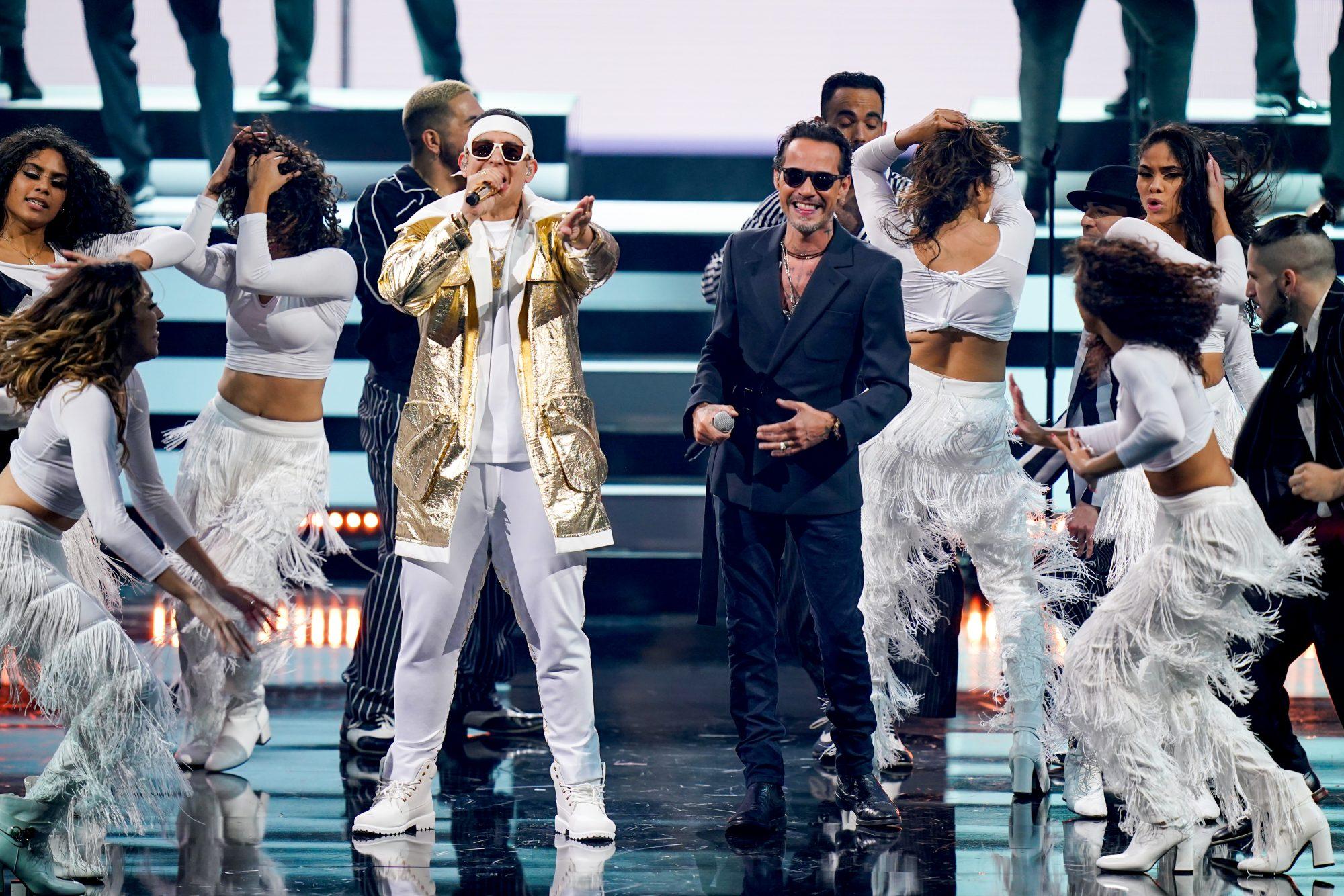 Marc Anthony Daddy Yankee