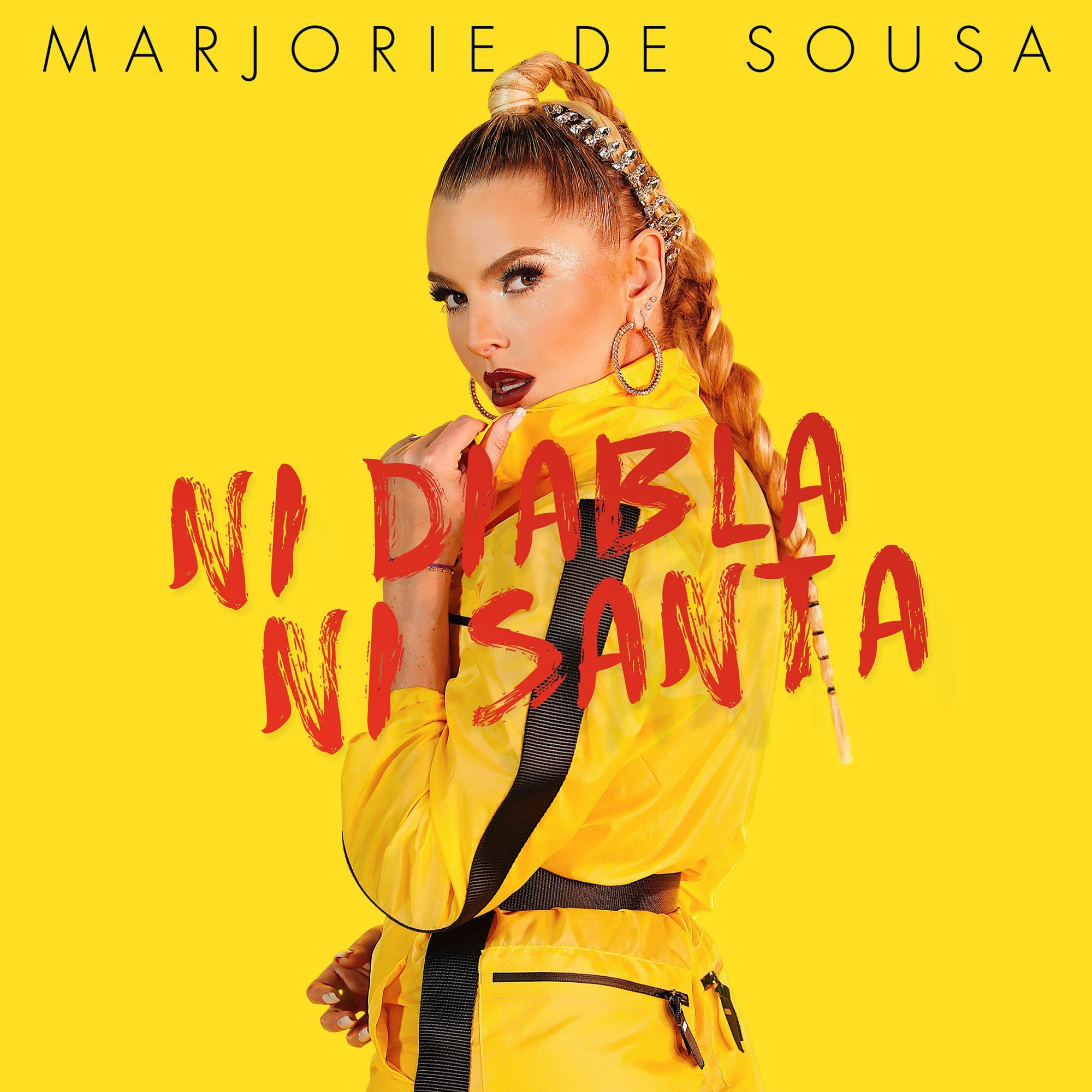 Marjorie de Sousa - Ni Diabla Ni Santa ALBUM COVER