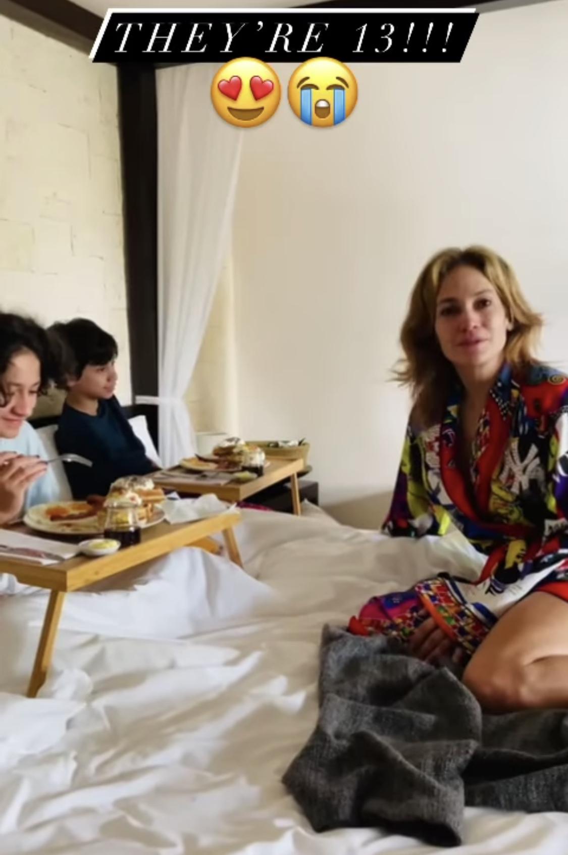 Jennifer Lopez cumpleaños hijos