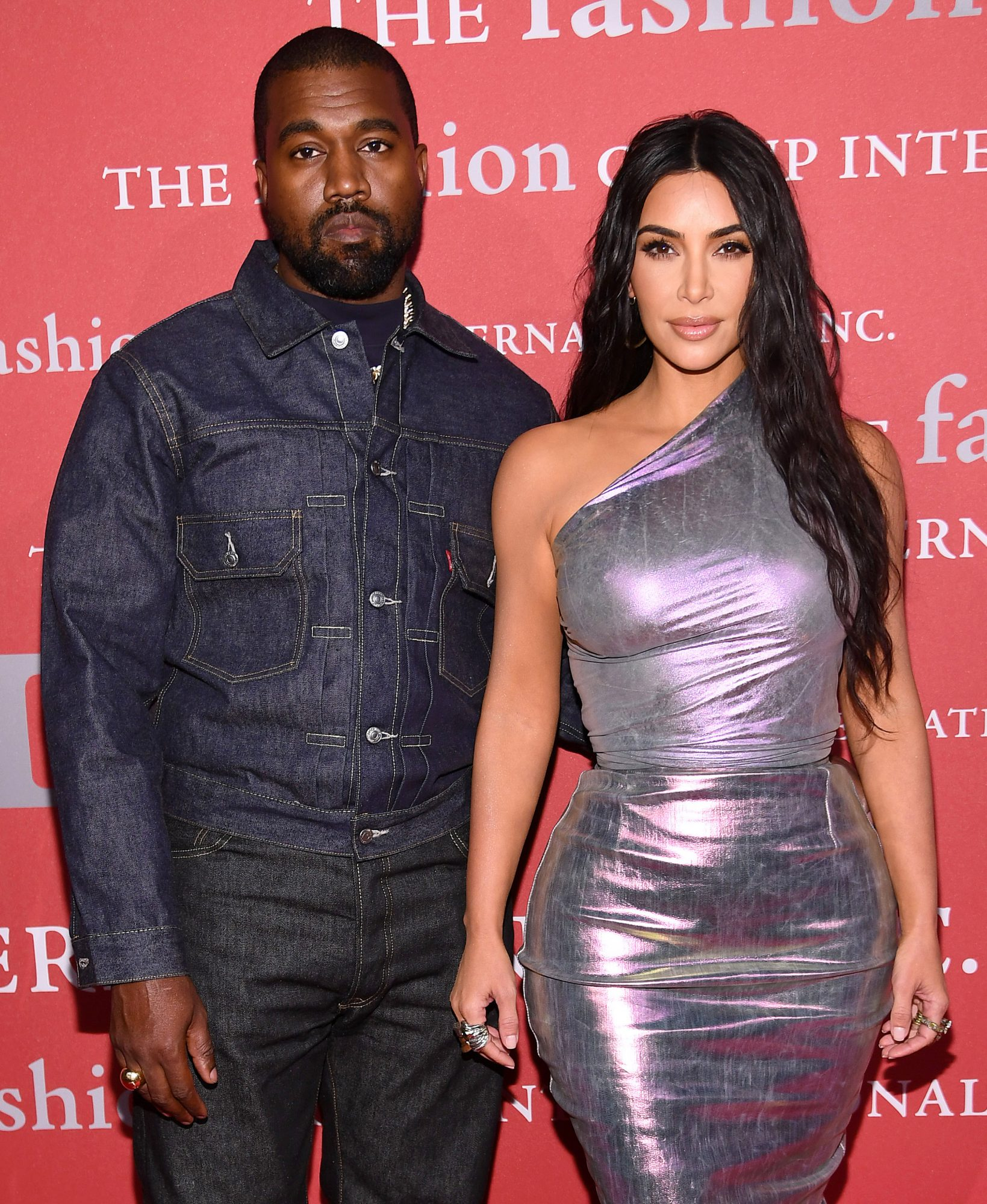 Kanye West and Kim Kardashian West 2019 FGI Night Of Stars Gala