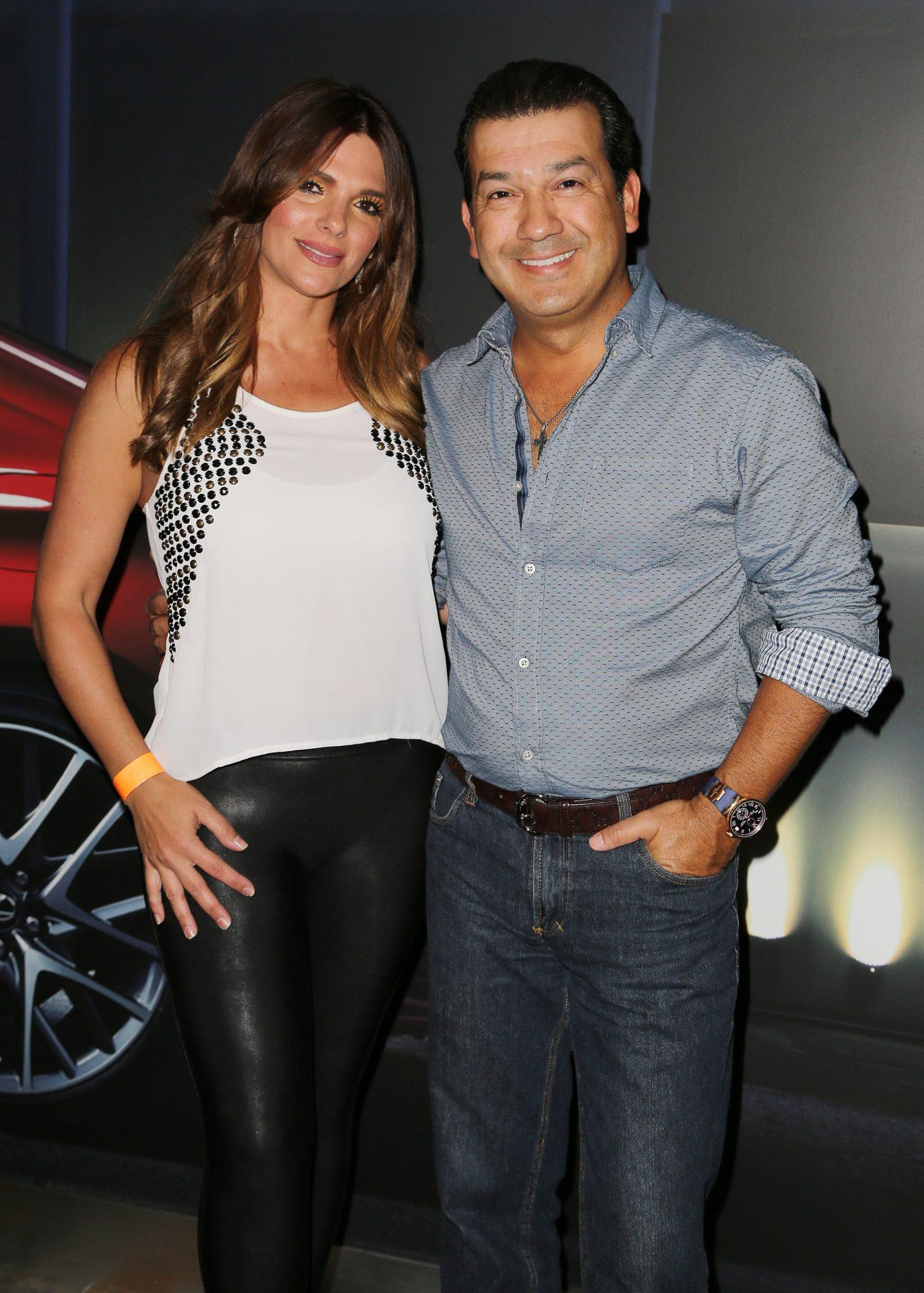 Barbara Bermudo y Mario Andres Moreno