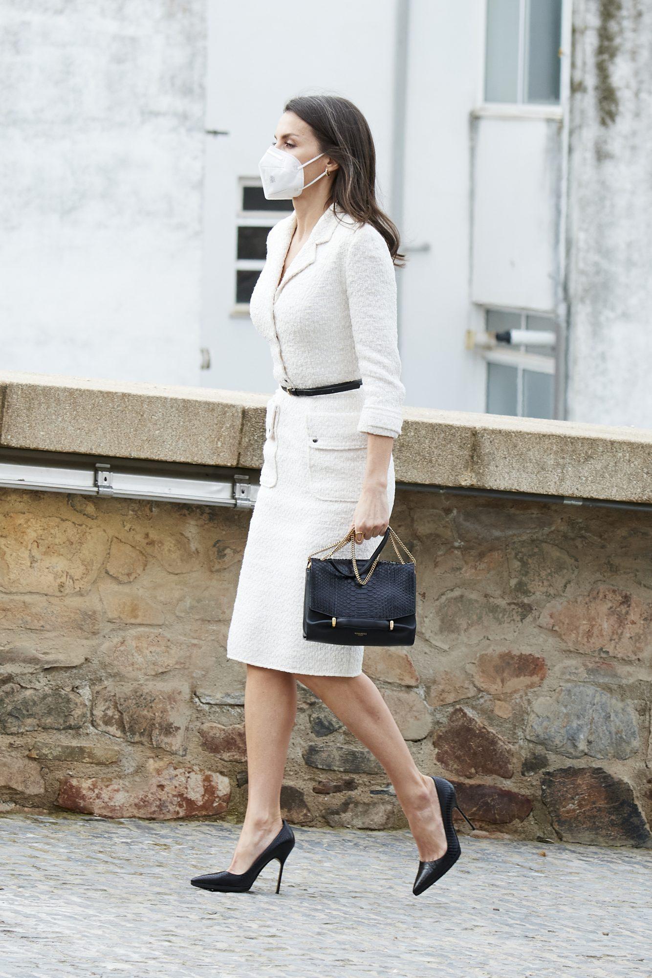 Reina Letizia, vestido blanco, madrid