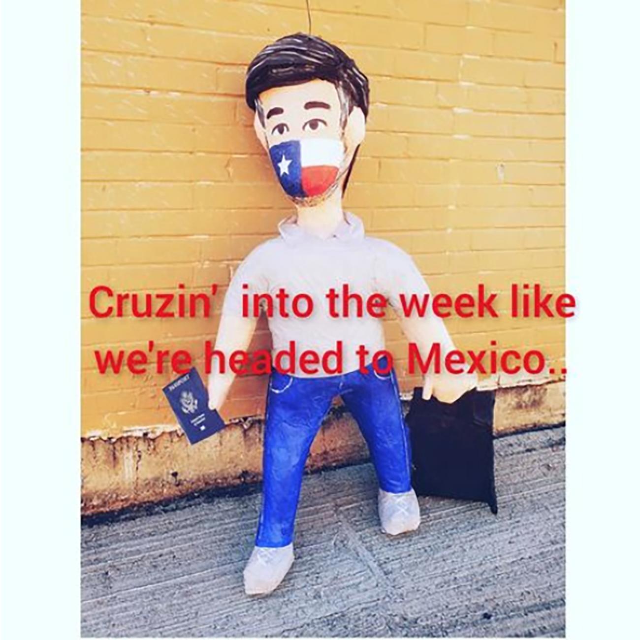 Ted Cruz Piñata