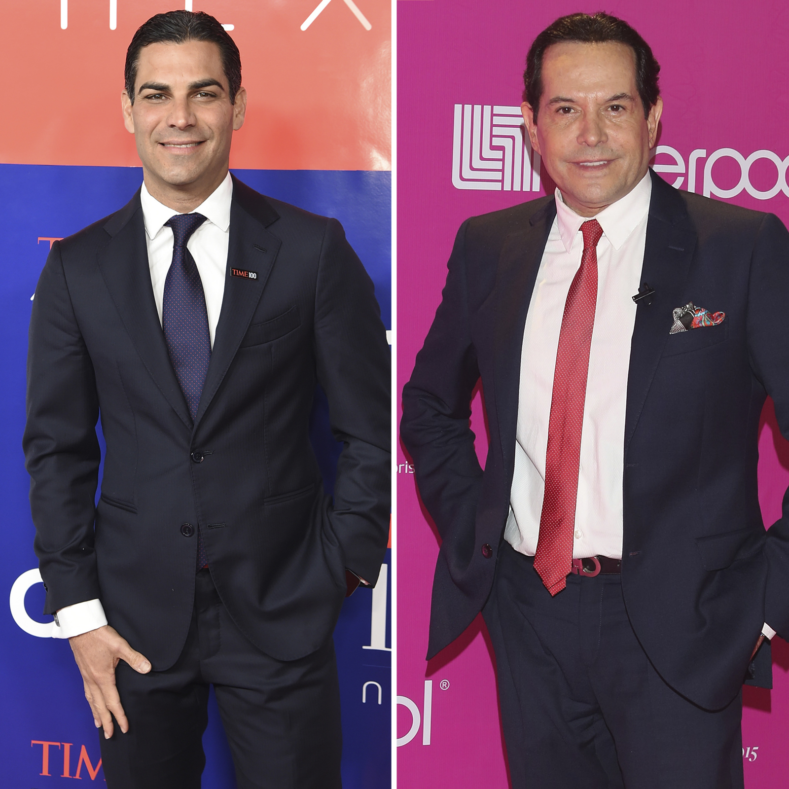 Francis Suarez y Juan Jose Origel