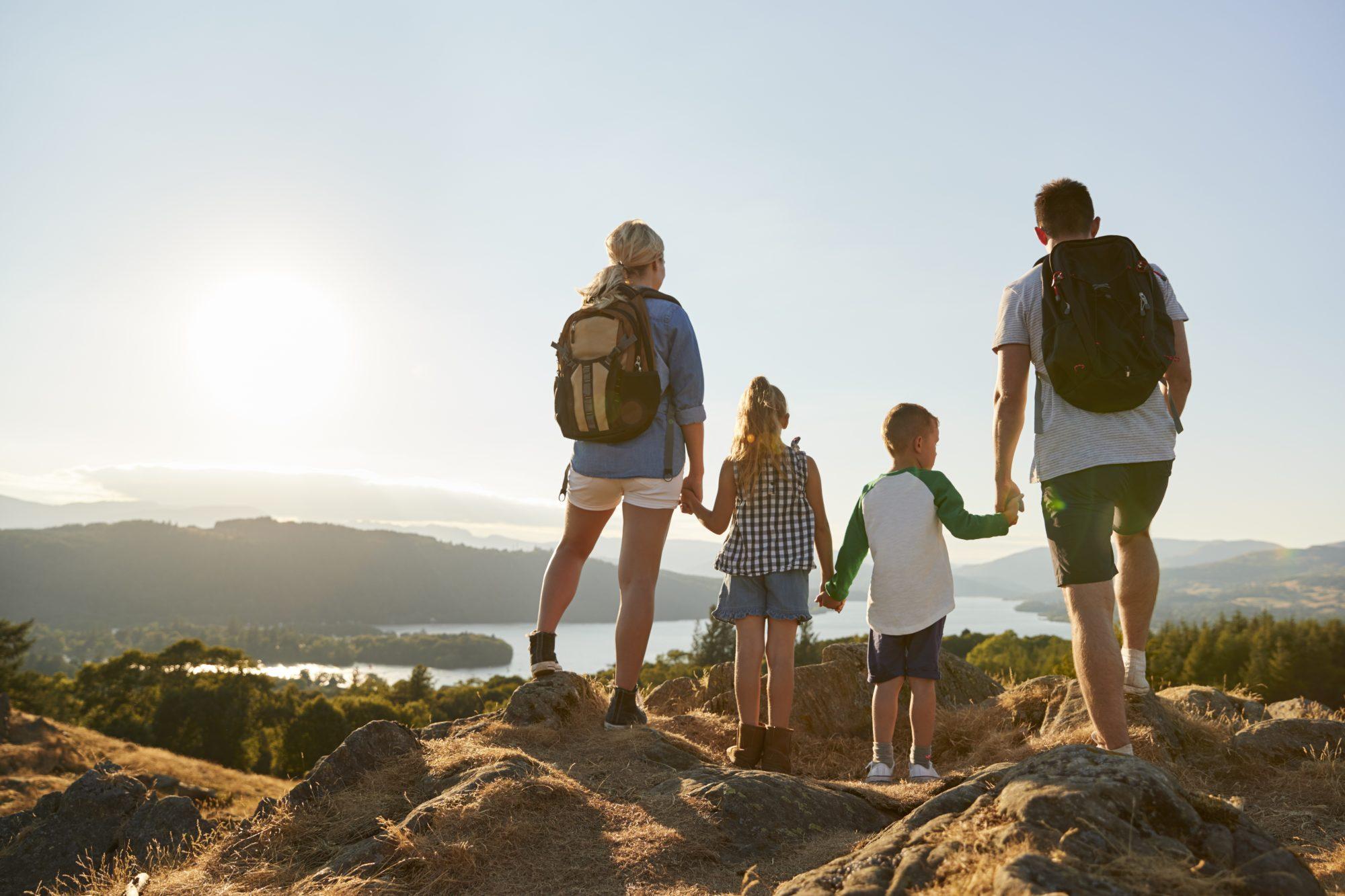 Hike en familia