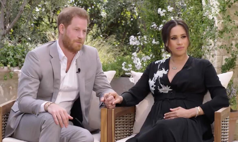 Meghan Markle y Prince Harry entrevista con Oprah Winfrey