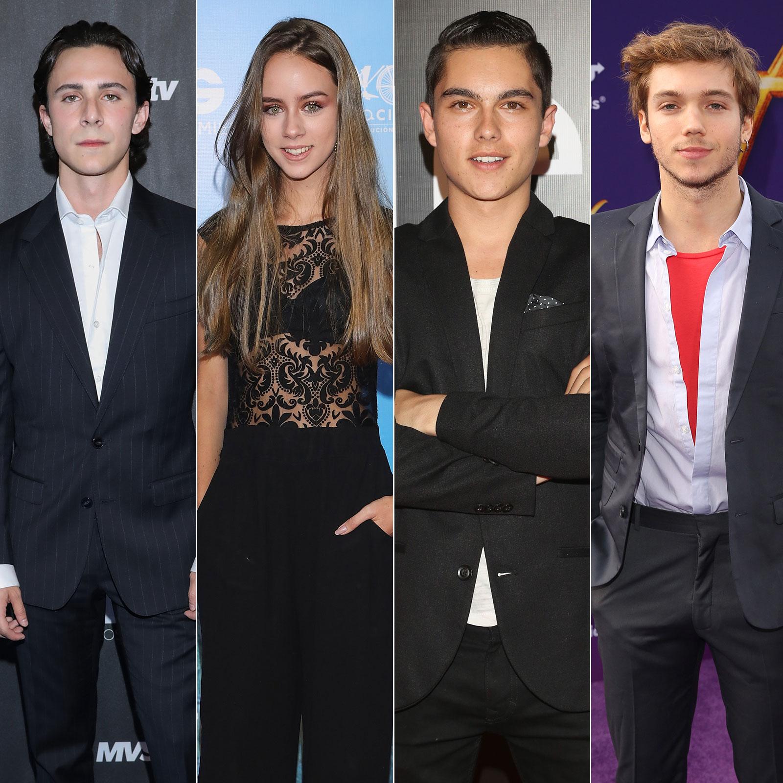 nuevos actores rebelde netflix Elite Way School Alejandro Puente, Azul Guaita, Sergio Mayer Mori, Franco Masini