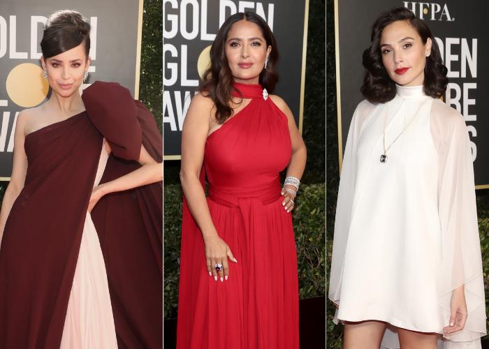 Golden Globes 2021 mejor vestidas