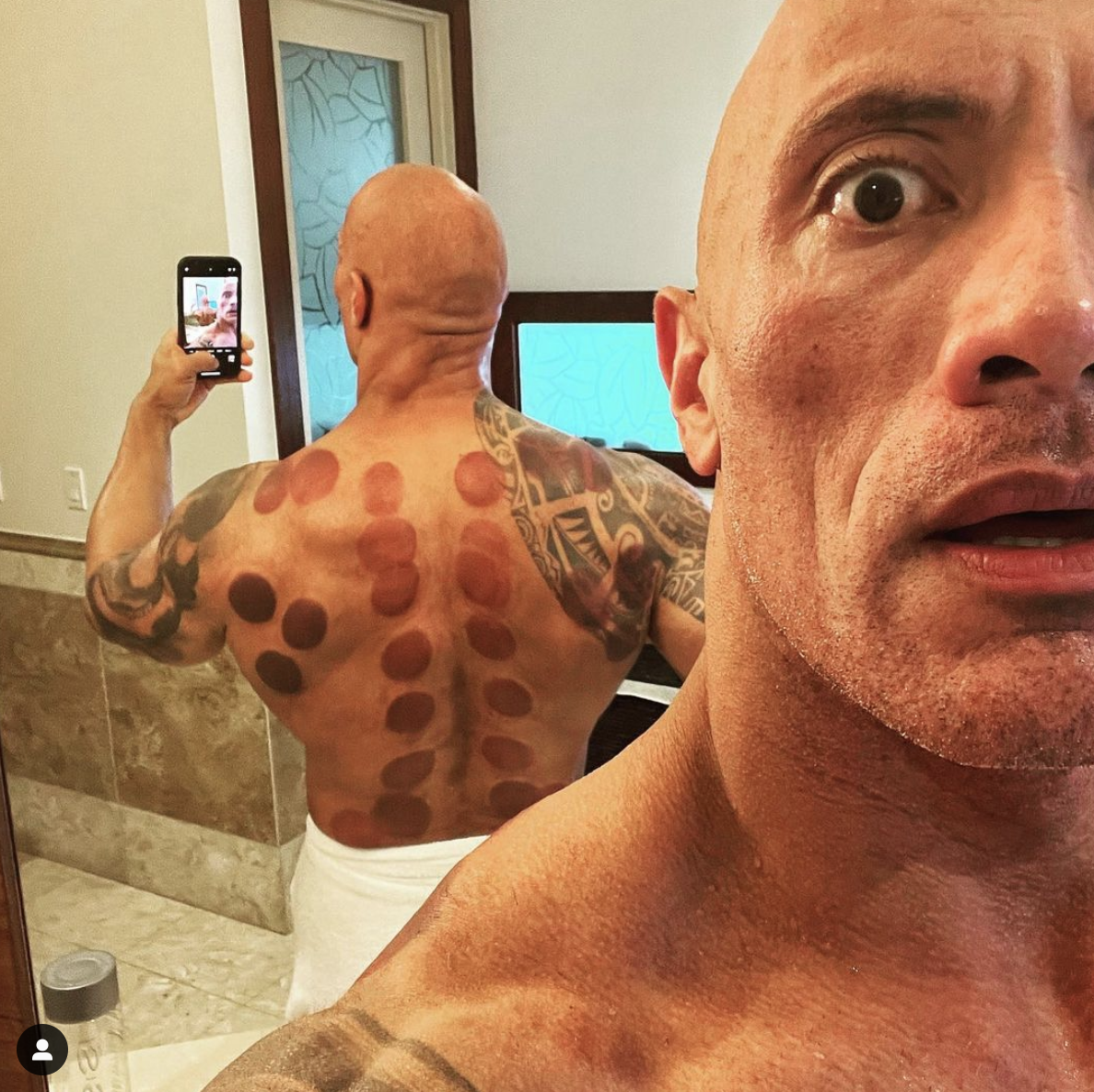 the rock couping