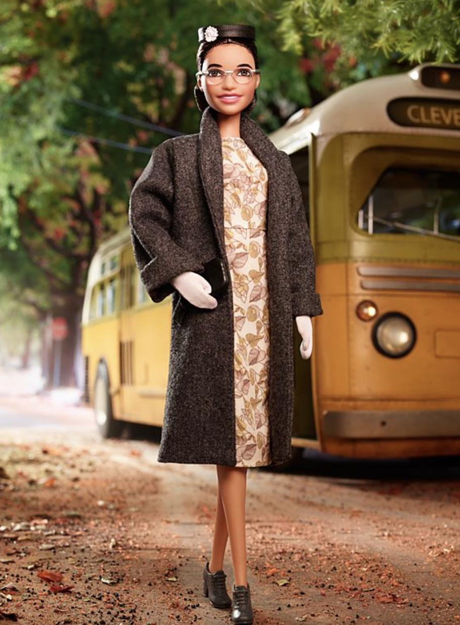Barbie de Rosa Parks