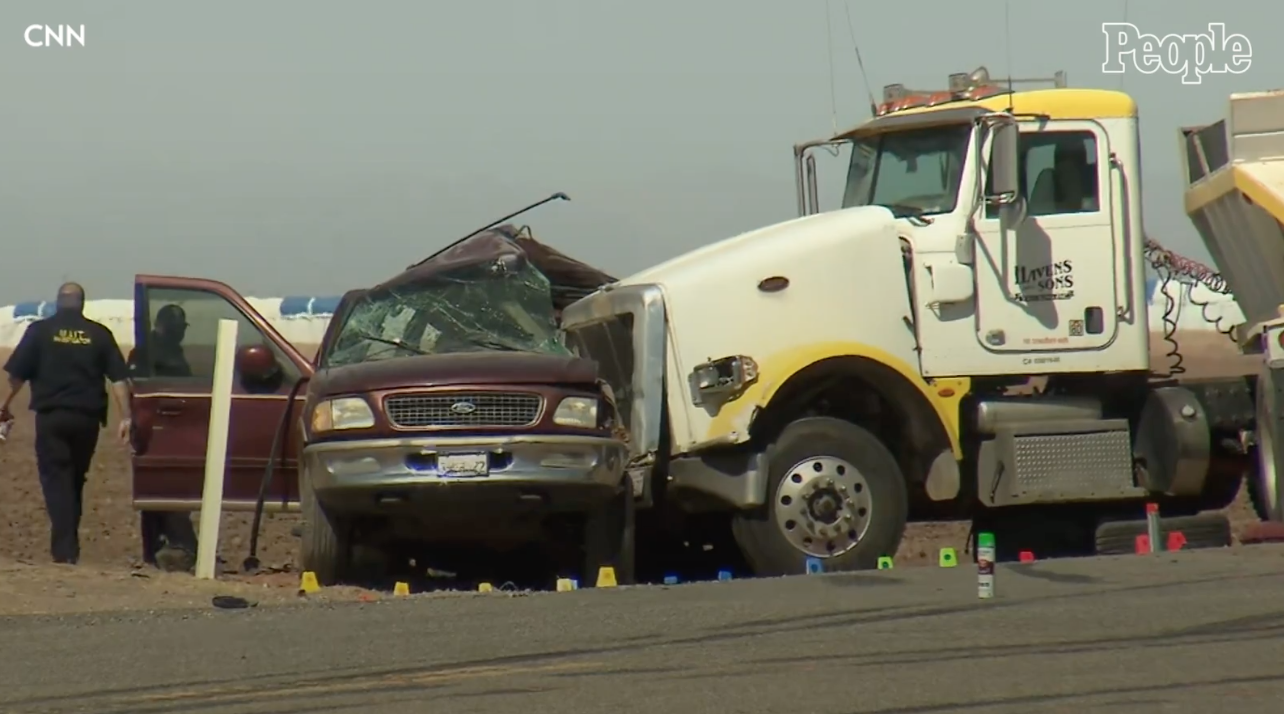 13 killed when semi-truck collides with SUV carrying 25