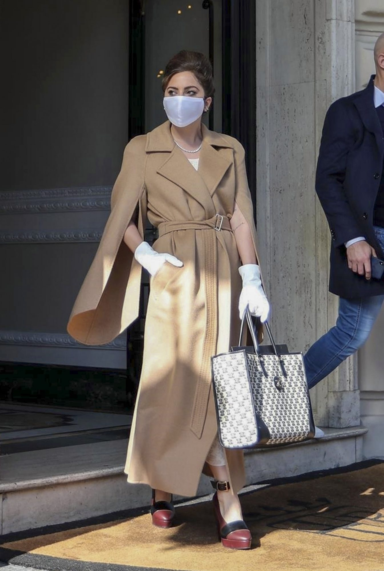 Lady Gaga, look del dia, Roma