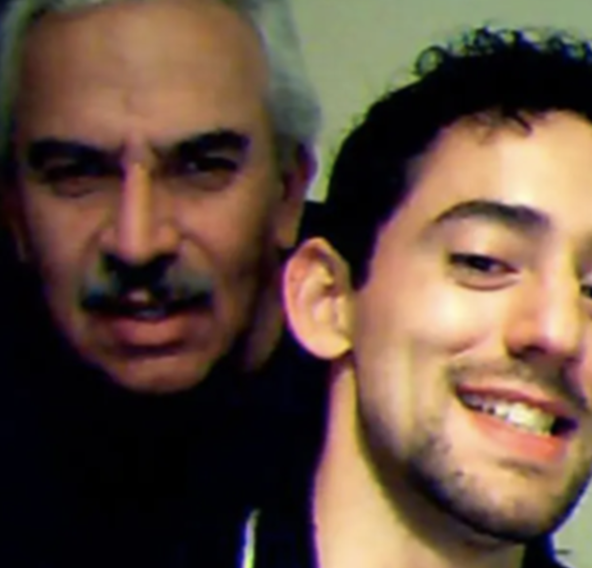 Luis Gerardo Méndez y padre