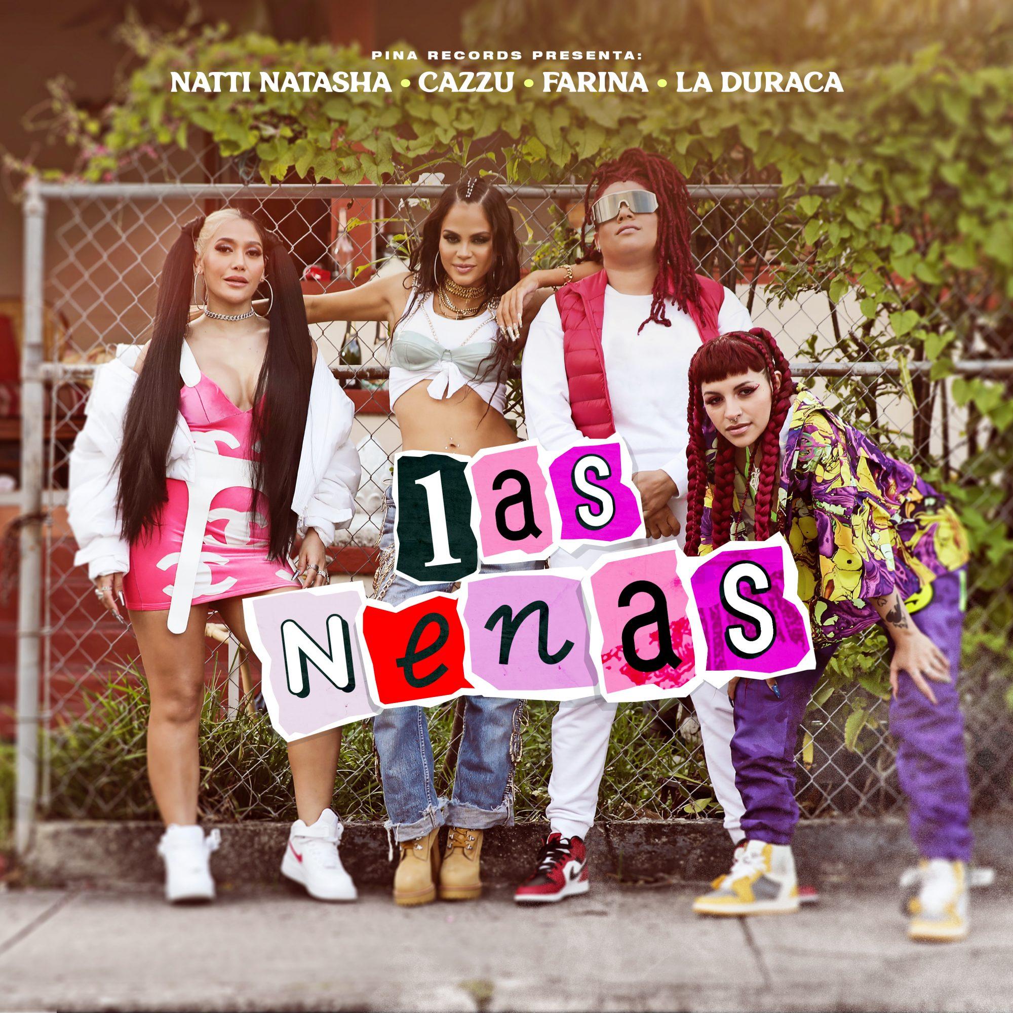 Natti Natasha, Cazzu, Farina y La Duraca