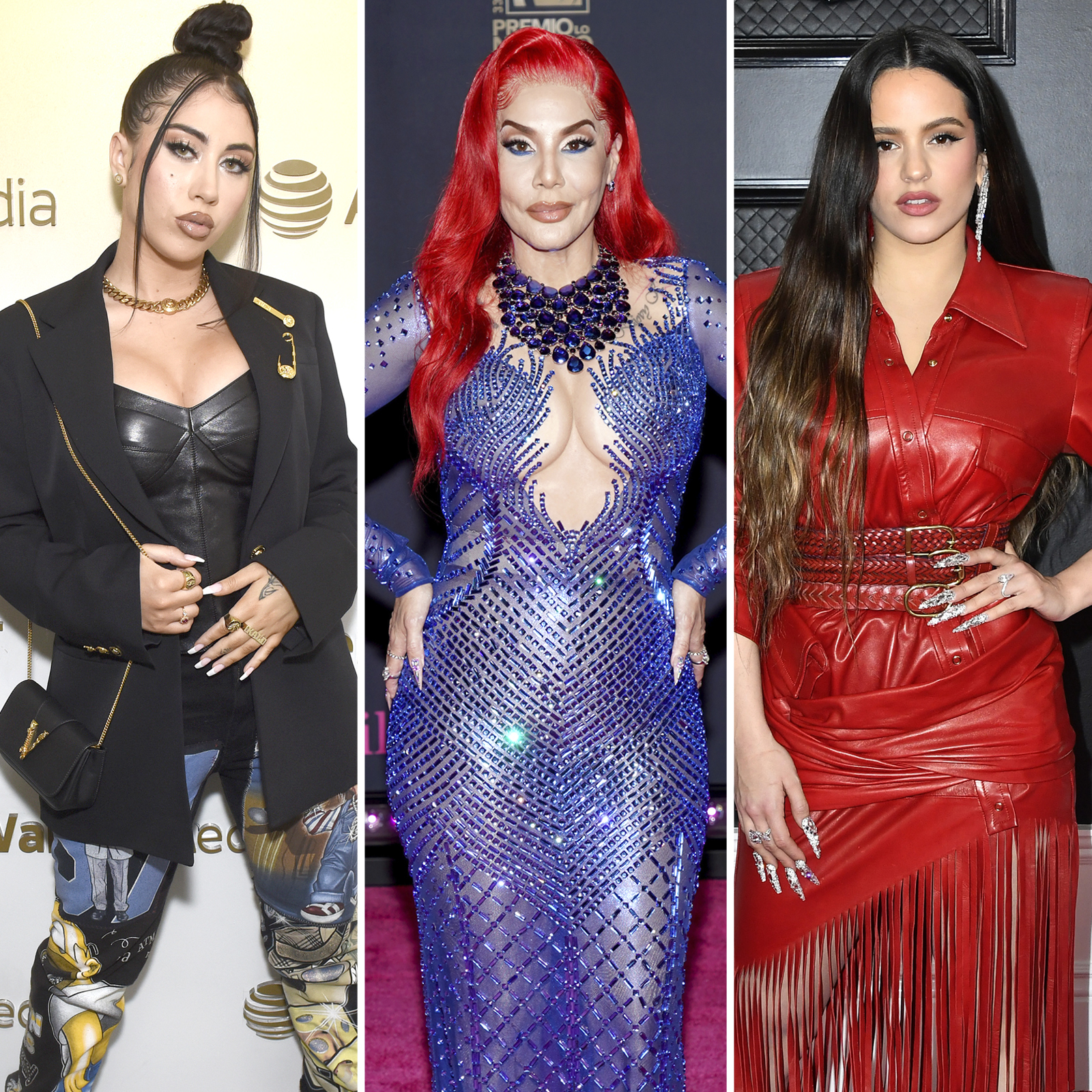 Kali Uchis, Ivy Queen, Rosalia
