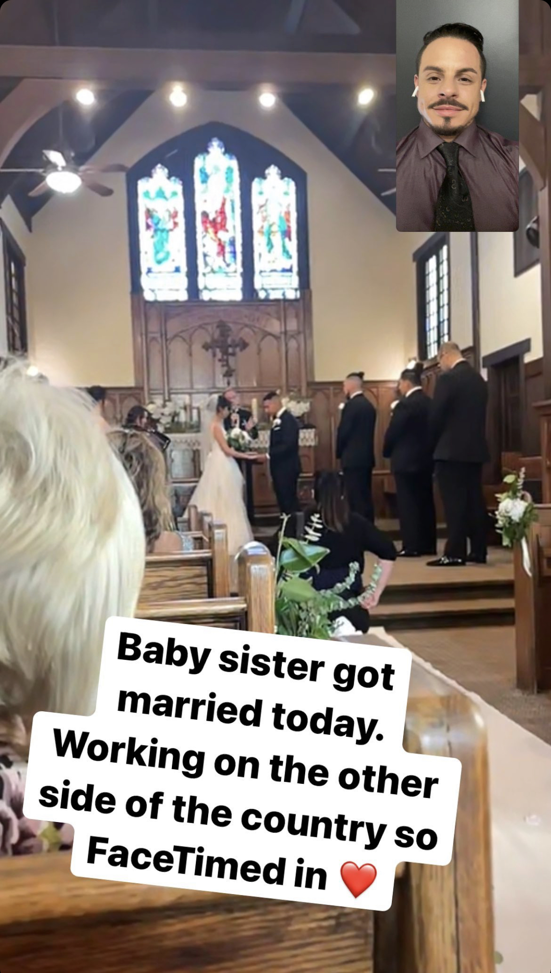 Casper boda hermana