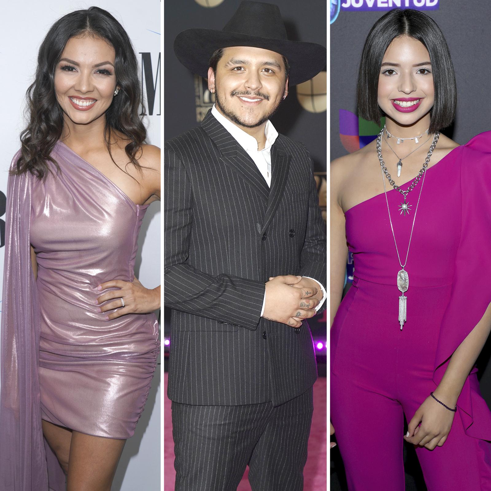 Lupita Infante, Christian Nodal and Angela Aguilar