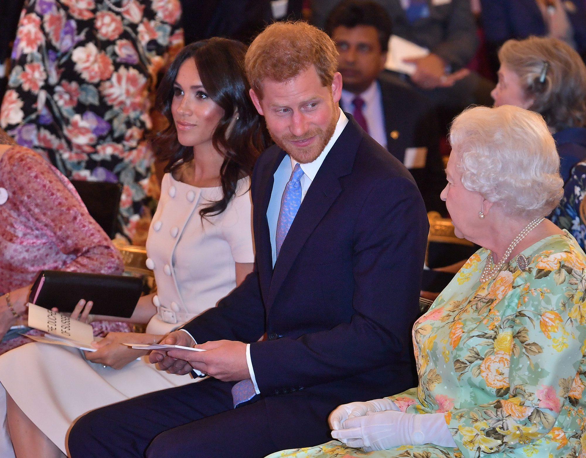 Queen Elizabeth, Meghan, Harry