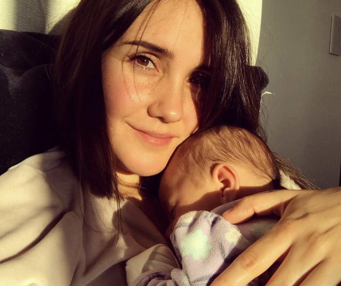 Dulce María bebé
