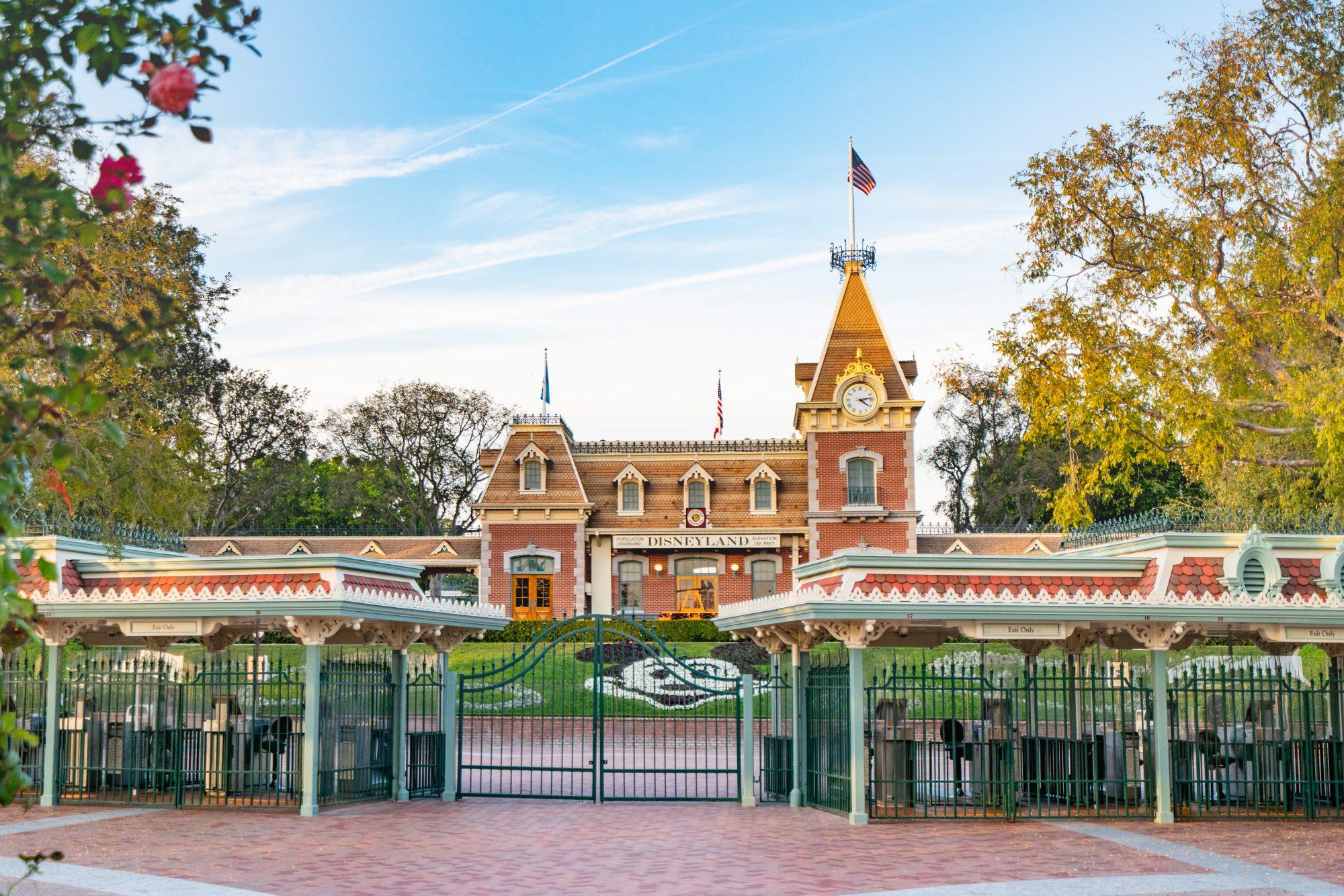 Disneyland theme park, Anaheim, California