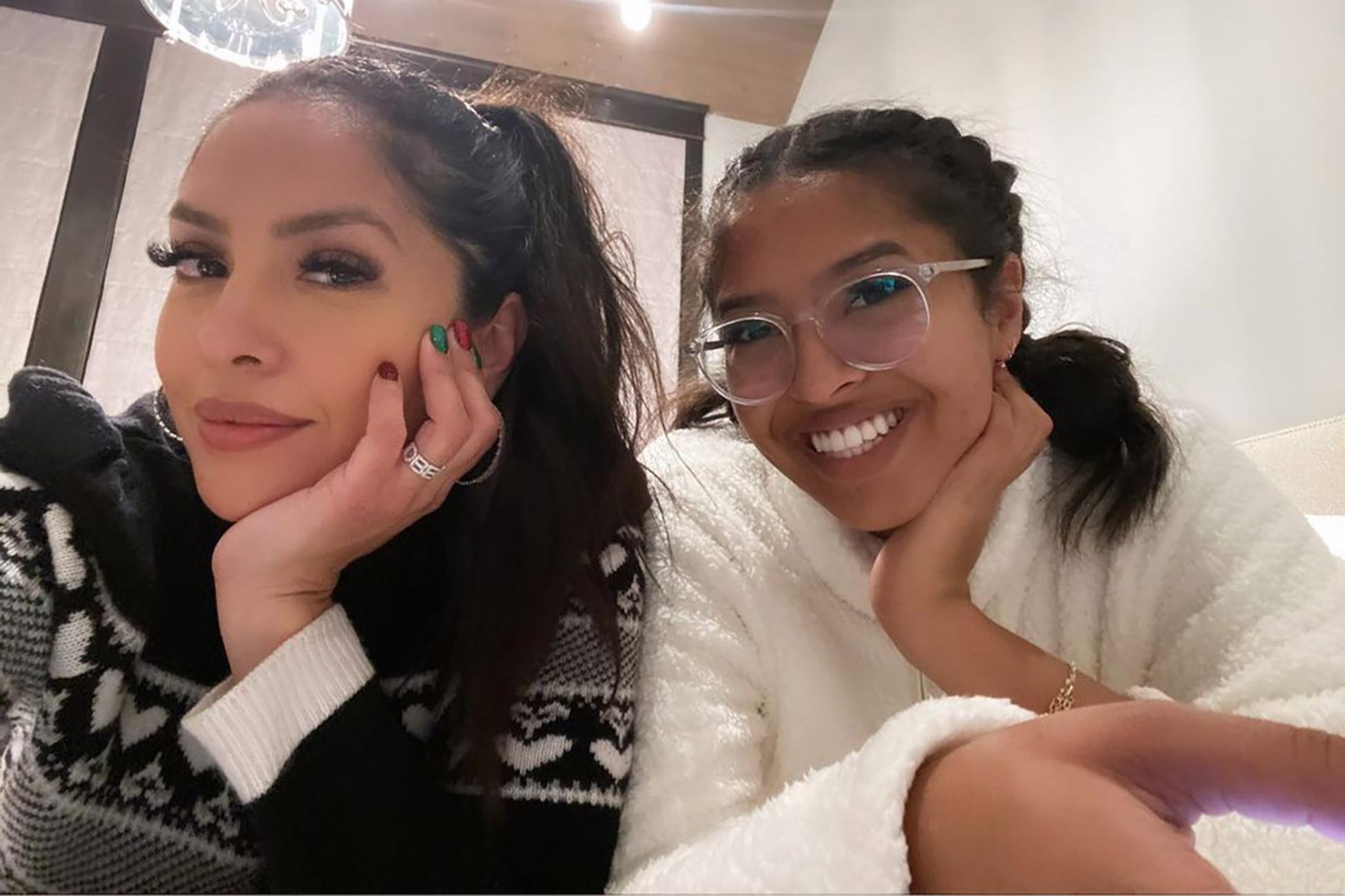 Vanessa and Natalia Bryant