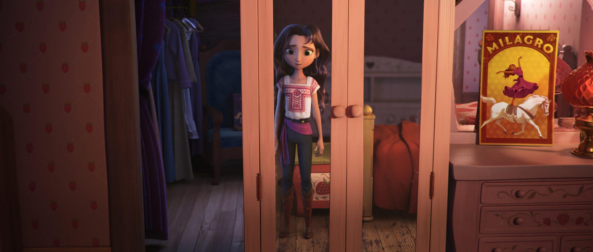 Isabela Merced en la película animada Spirit Untamed