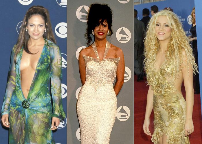 Vestidos iconicos historia Grammy