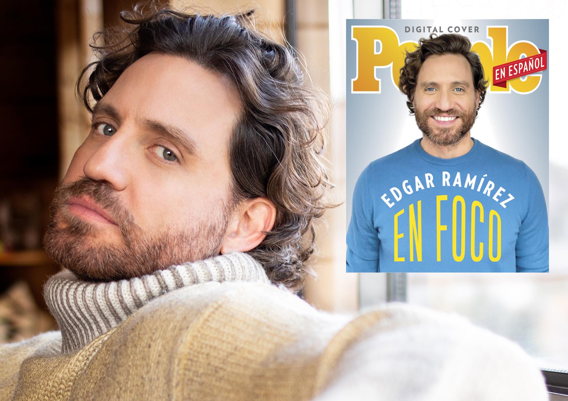 Edgar Ramirez - Digital Cover