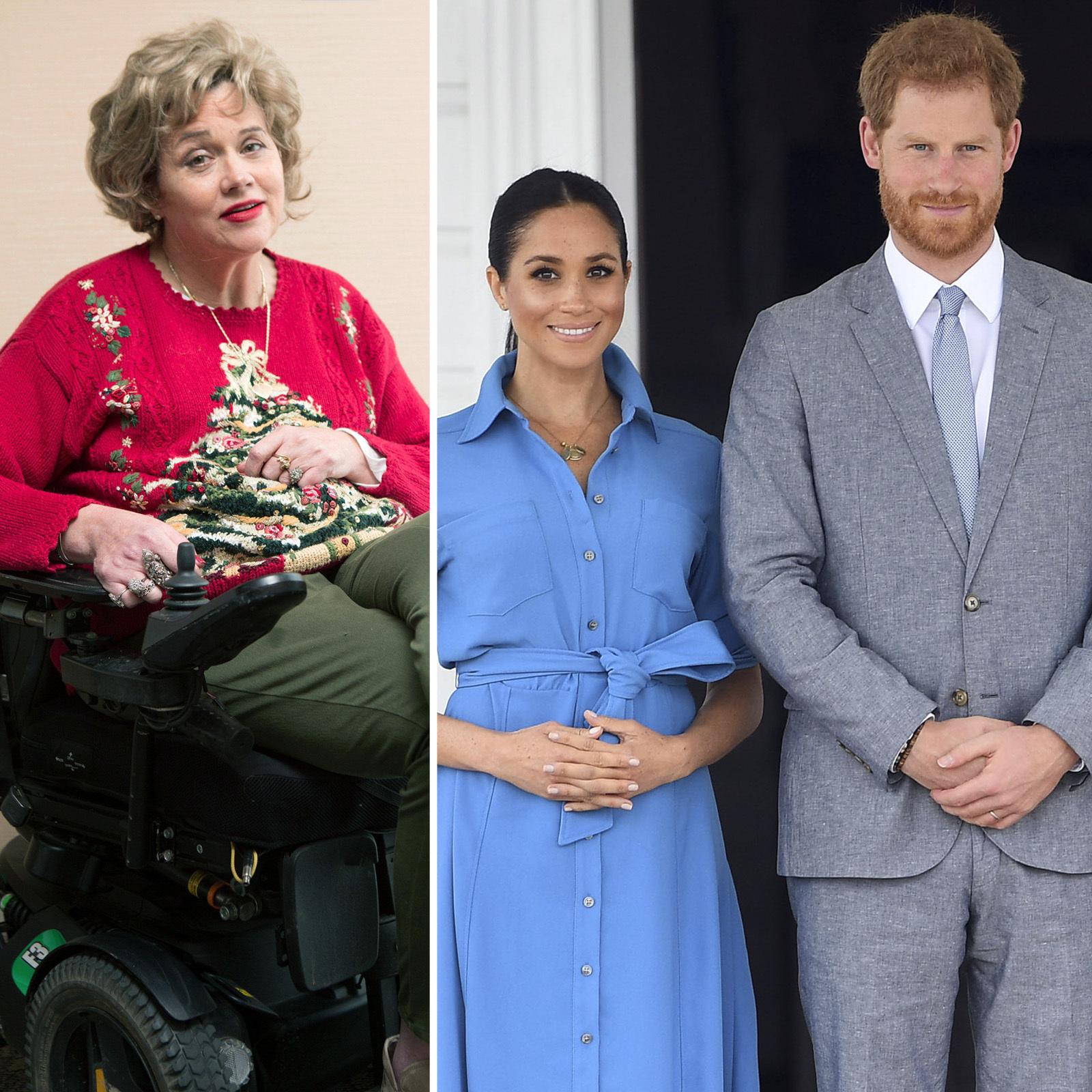 Samantha Markle y Meghan Markle y Prince Harry