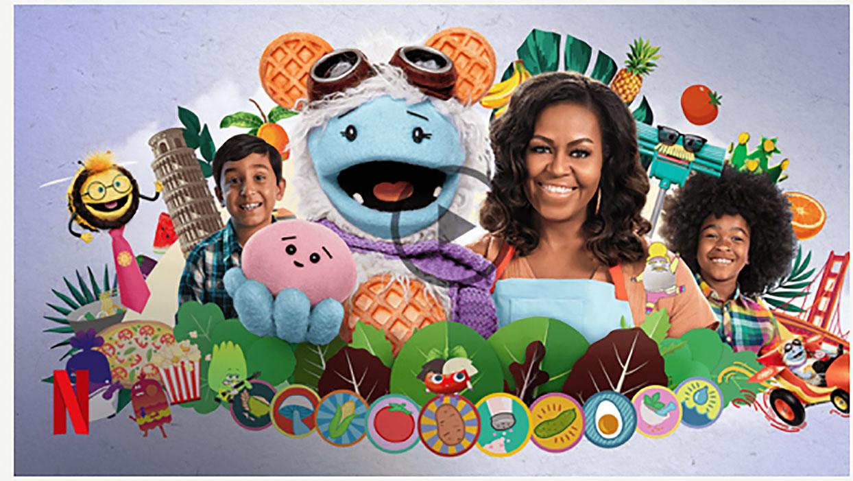 waffles + Mochi Michelle Obama Netflix