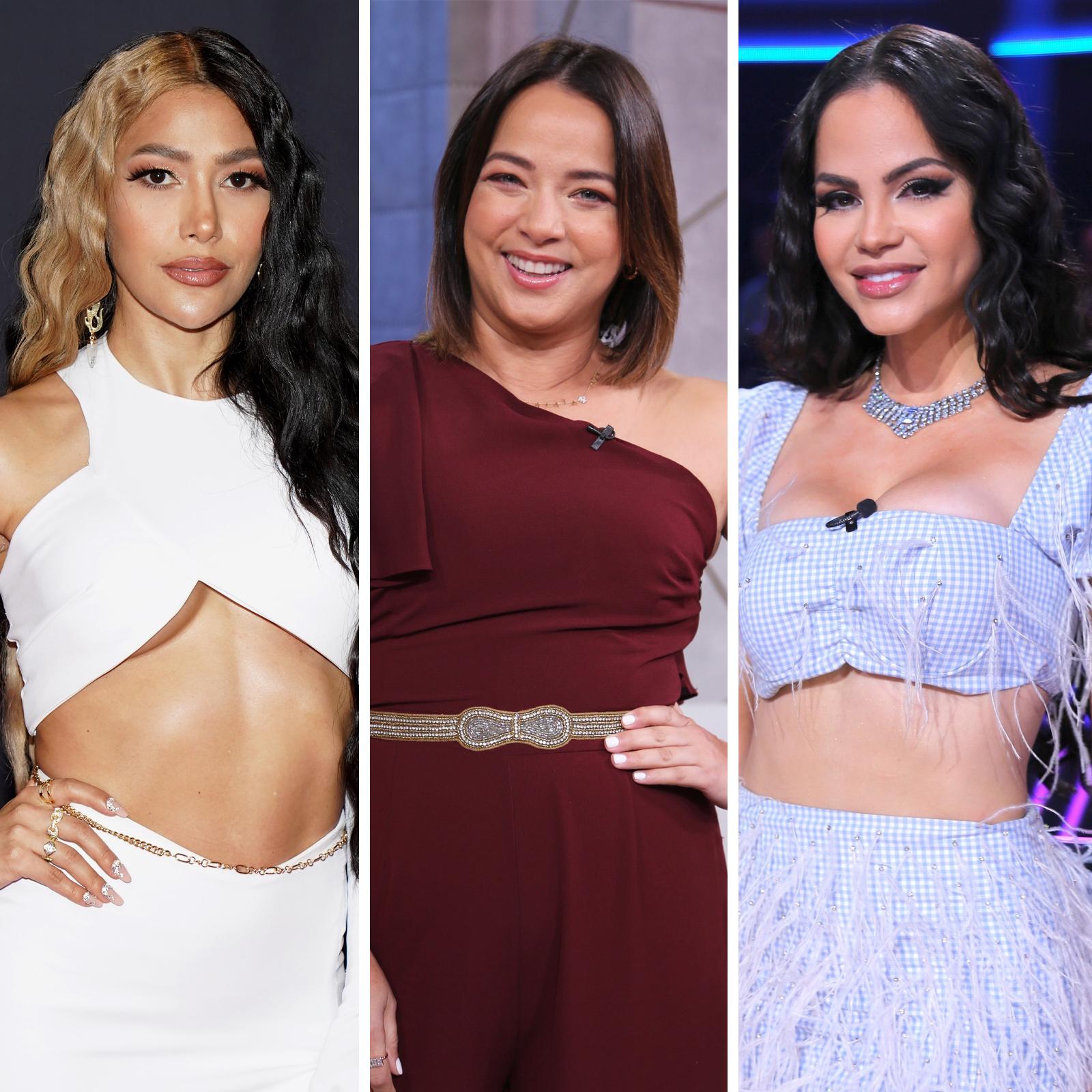 Farina, Adamari Lopez and Natti Natasha