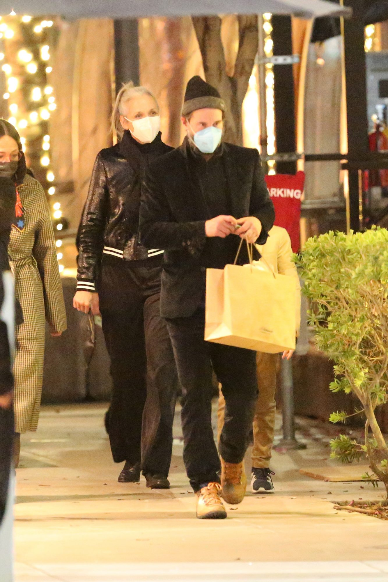 Keanu Reeves on a Dinner Date with Girlfriend Alexandra Grant