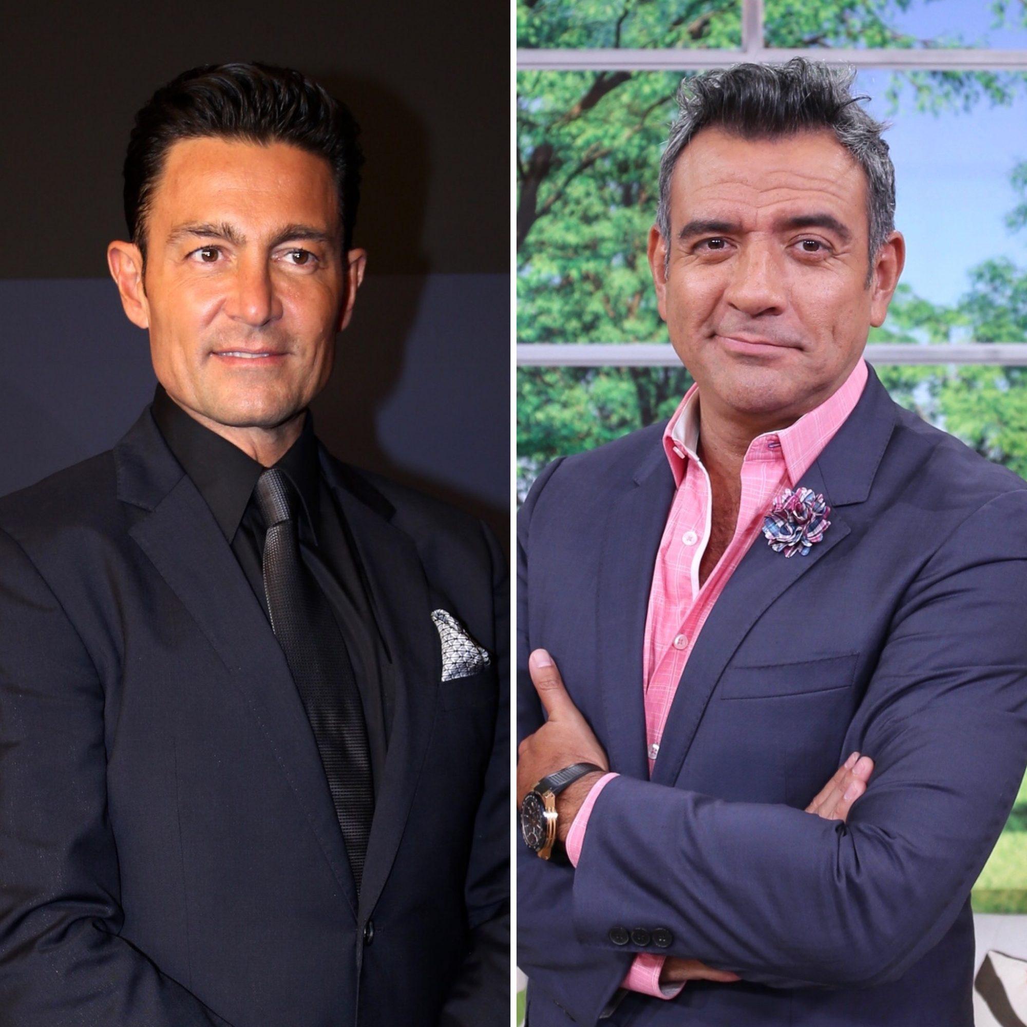 Héctor Sandarti y Fernando Colunga