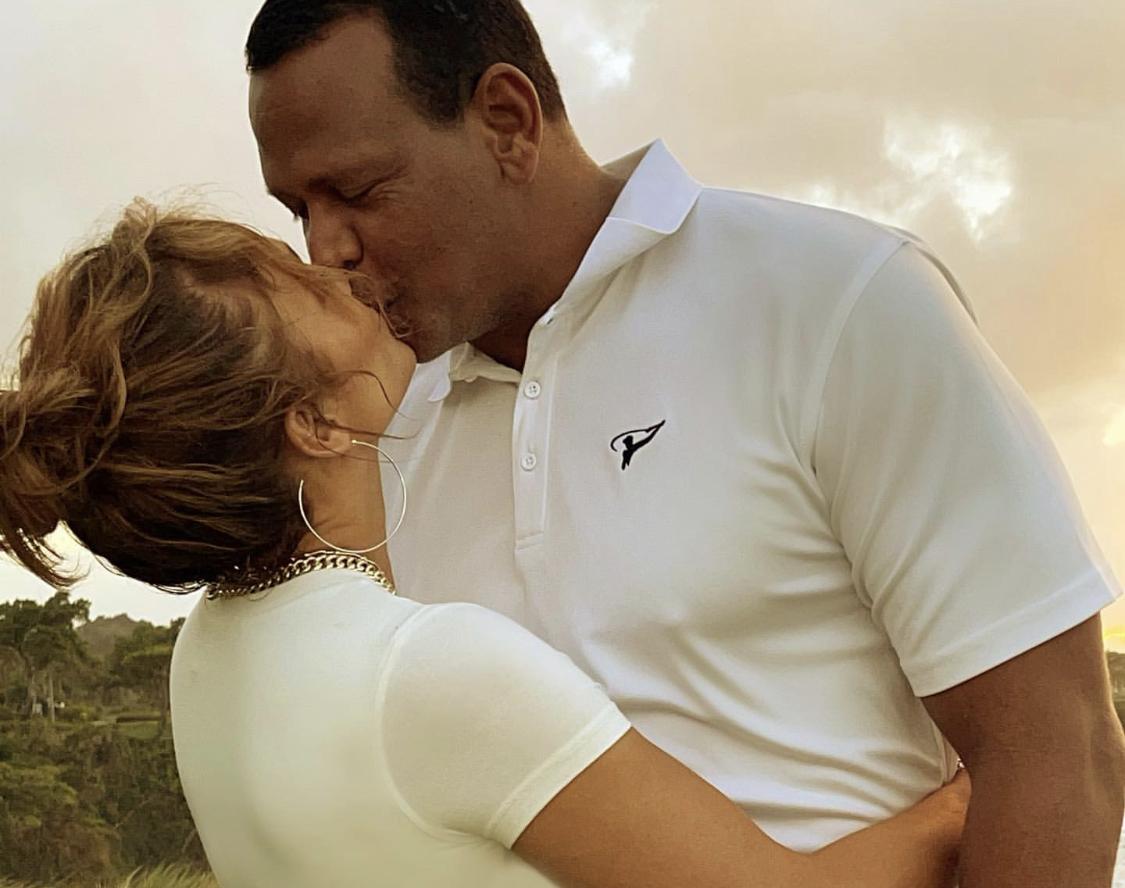 Jennifer Lopez Alex Rodriguez beso