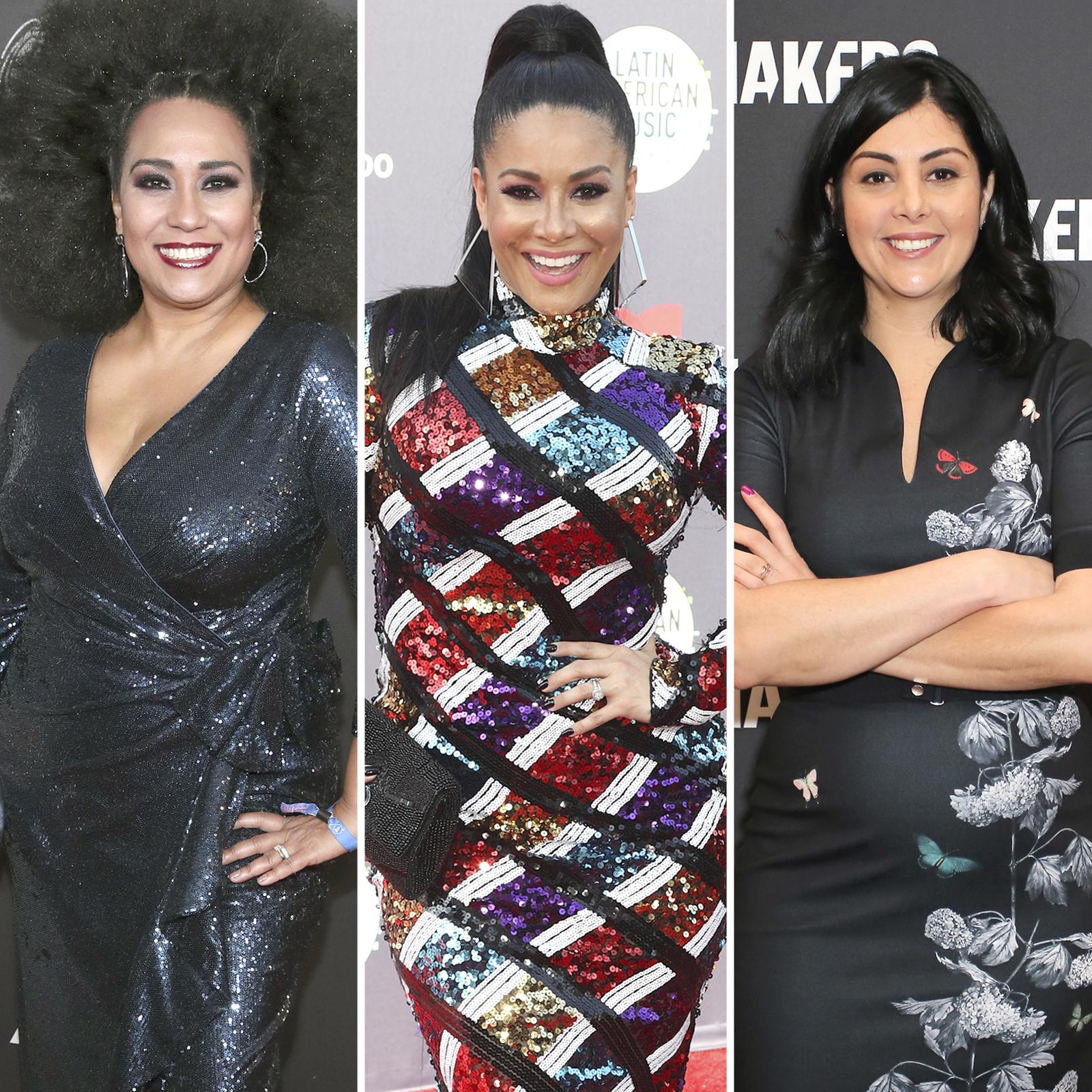 Aymee Nuviola, Carolina Sandoval y Diana Trujillo