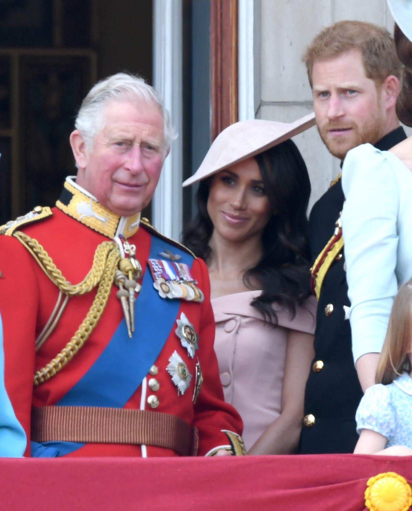 Prince Charles, Meghan Markle y Prince Harry