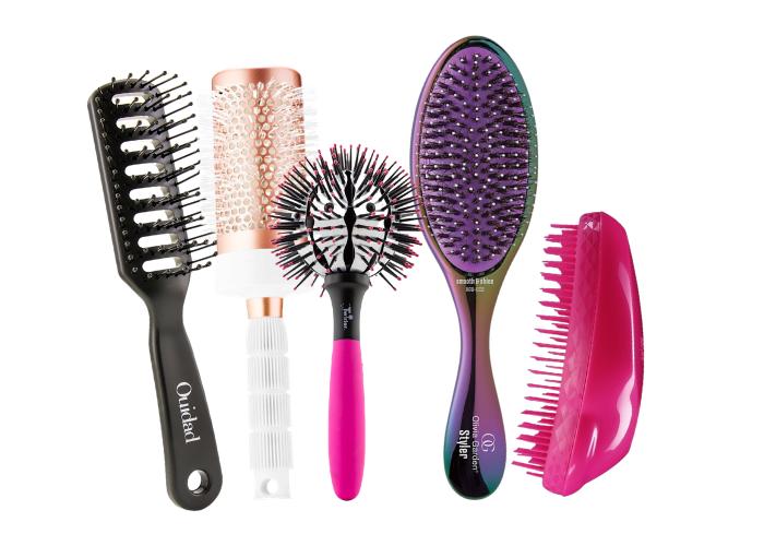 Cepillos para cada tipo de pelo
