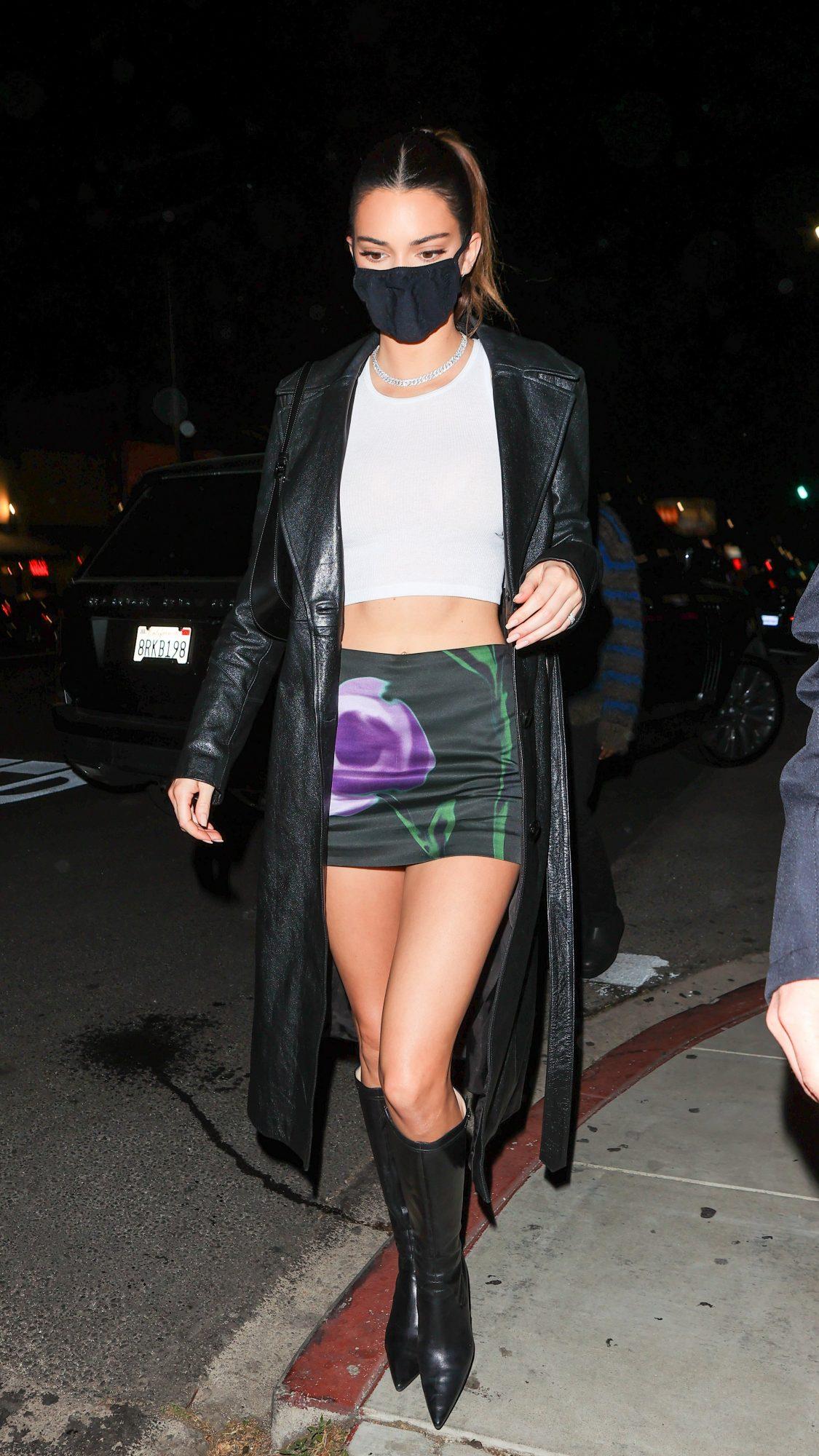 Kendall Jenner, minifalda, sexy