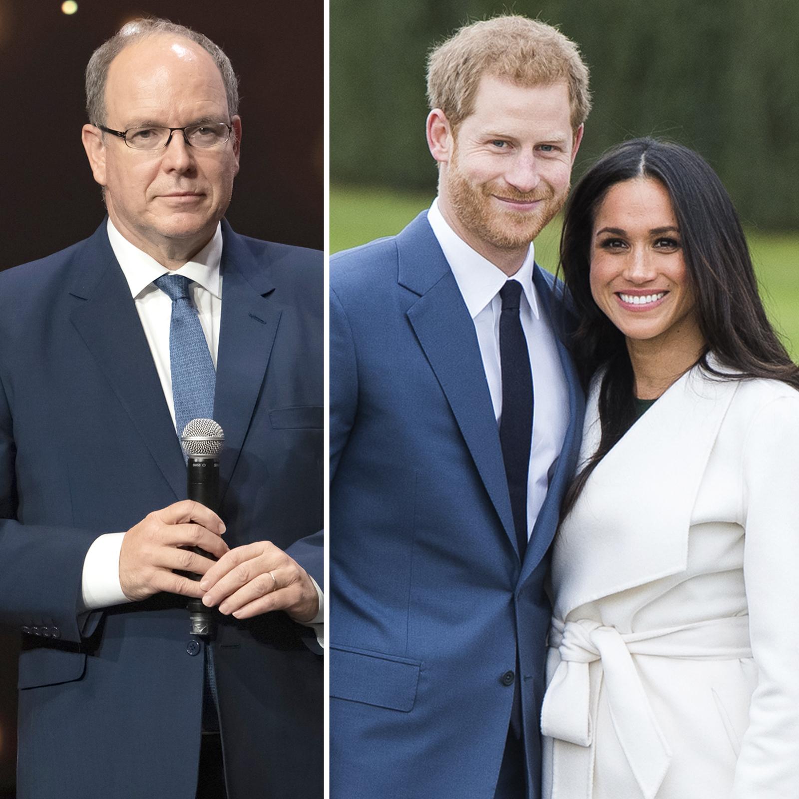 Prince Albert of Monaco y Harry and Meghan