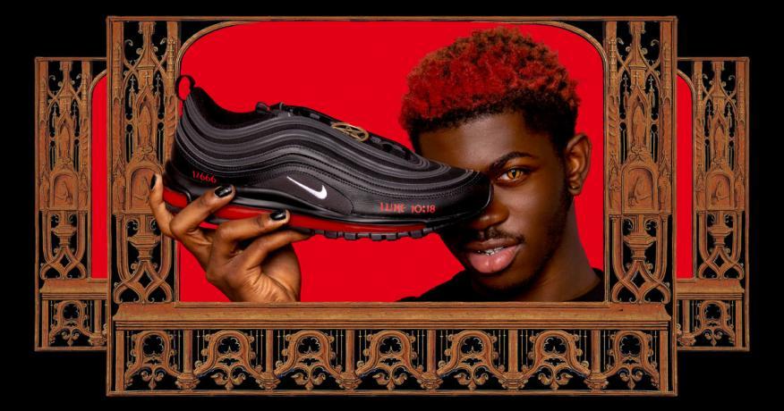 Lil Nas X Satan Shoes MSCHF