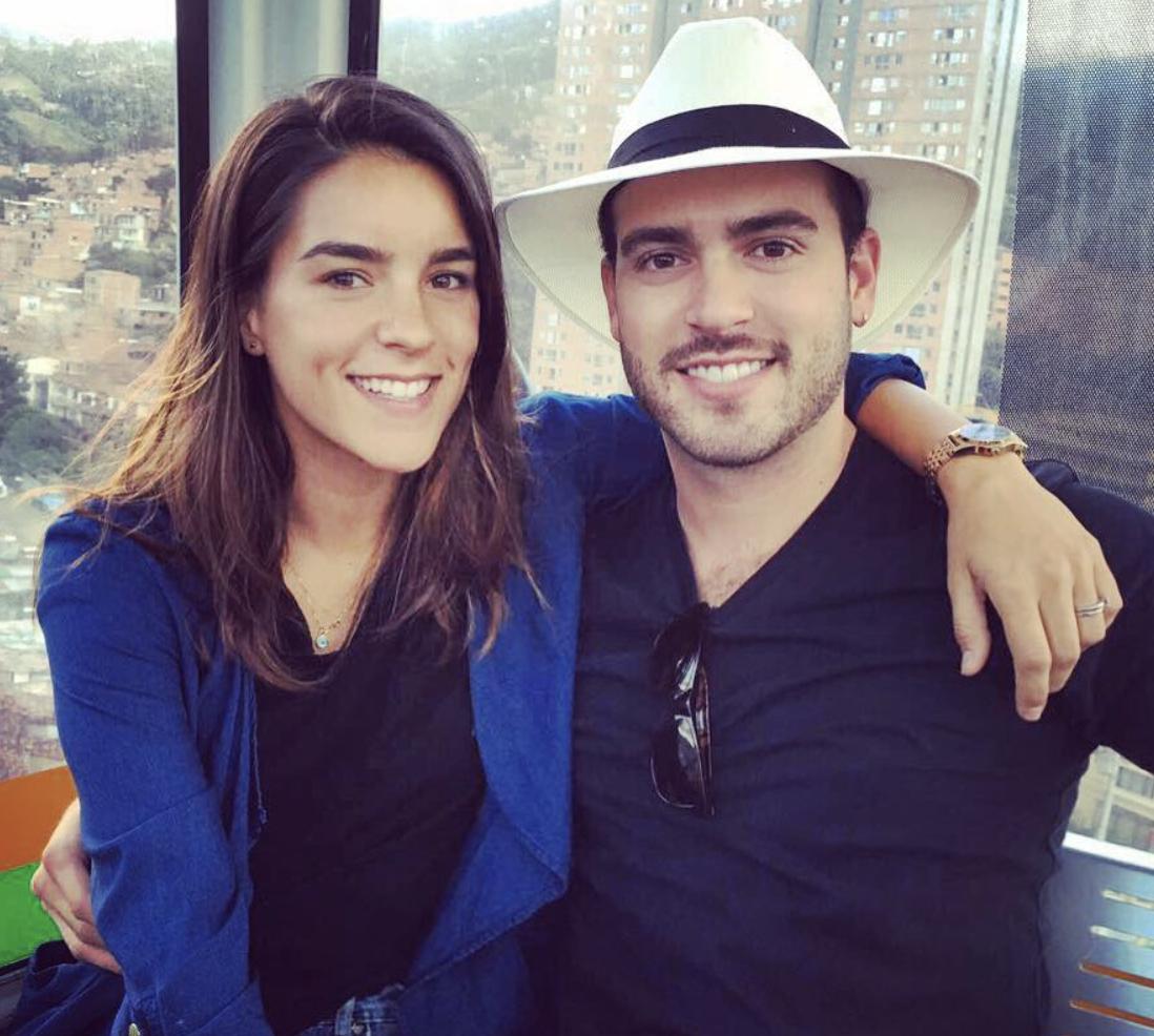 Pablo Lyle y su esposa Ana Araujo