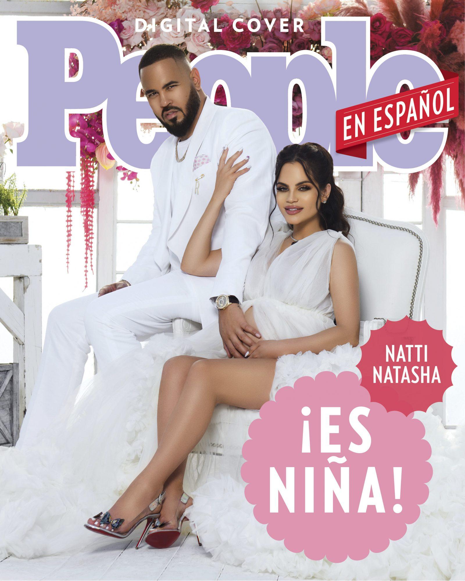 Natti Natasha Gender Reveal Digital Cover