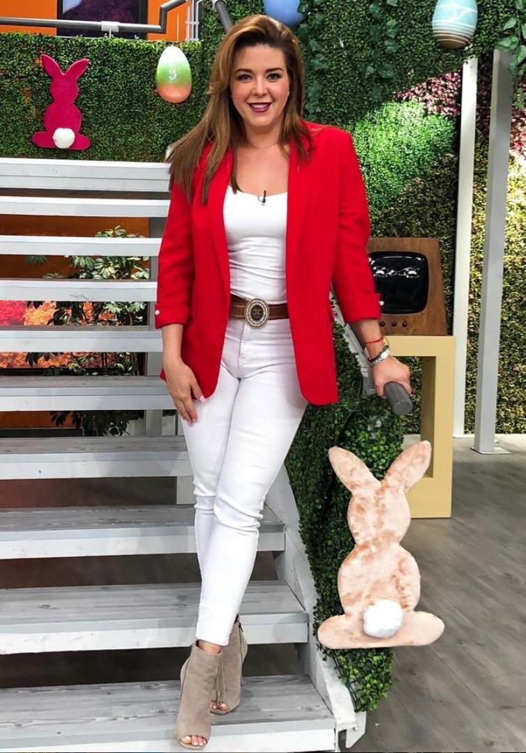Alicia Machado, look del dia, programa Hoy