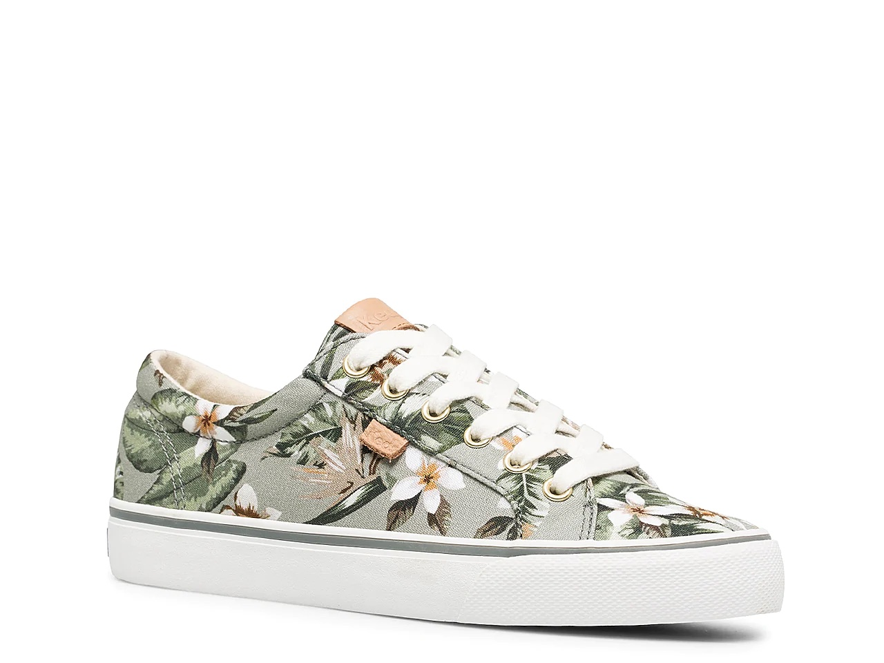tenis zapato Keds flores tropicales