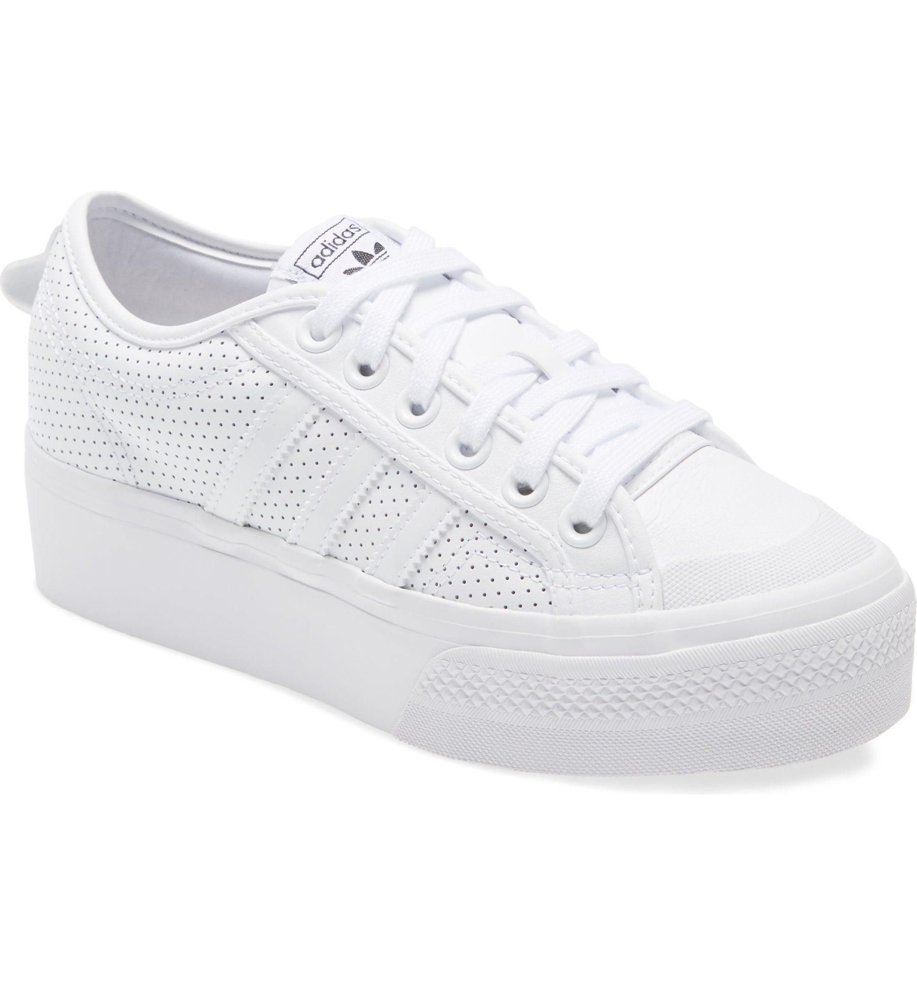 tenis zapato Adidas blanco